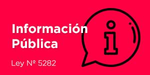Información Publica Ley Nº 5282